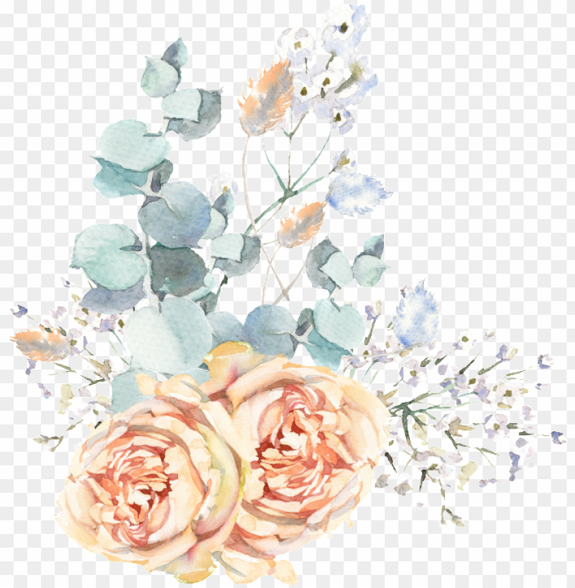 free PNG this graphics is hand painted wedding scene flowers - portable network graphics PNG image with transparent background PNG images transparent