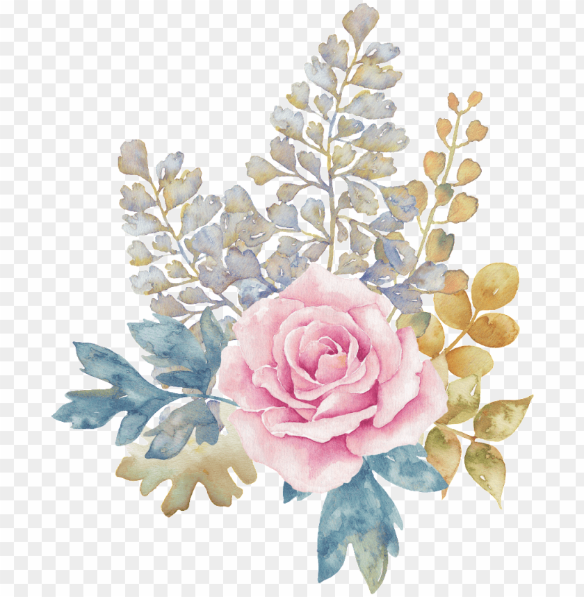 free PNG this graphics is pastel flower transparent decorative - transparent watercolor flower background png - Free PNG Images PNG images transparent