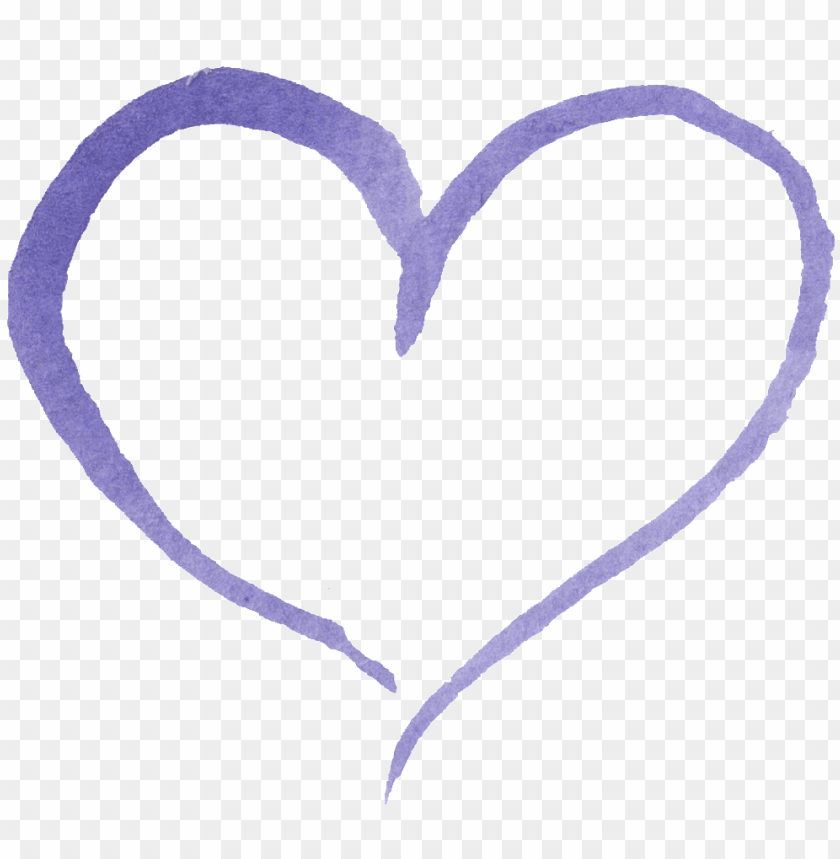 free PNG this graphics is purple heart love transparent decorative - purple PNG image with transparent background PNG images transparent