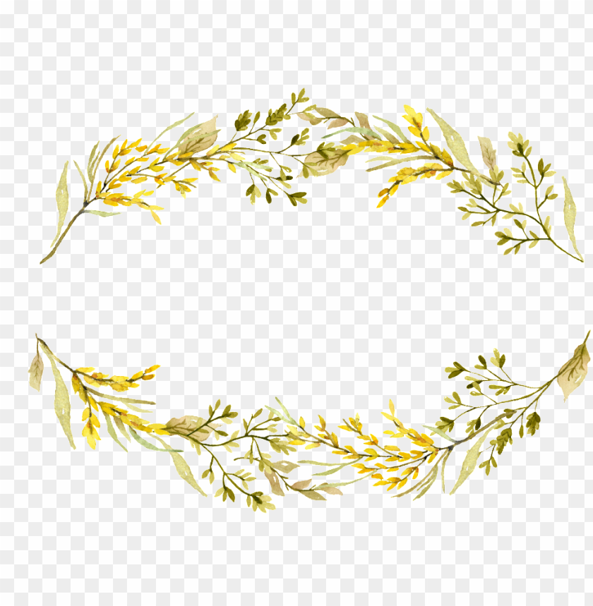free PNG this graphics is yellow headline flower box decoration - portable network graphics PNG image with transparent background PNG images transparent