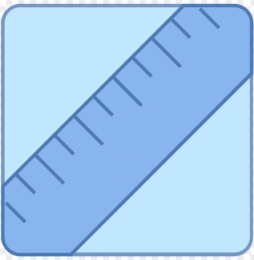 free PNG this icon is depicting a ruler tilted diagonally and - icon png - Free PNG Images PNG images transparent