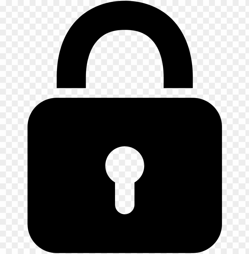 This Is A Graphic Reation Of A Pad Lock Username And Password