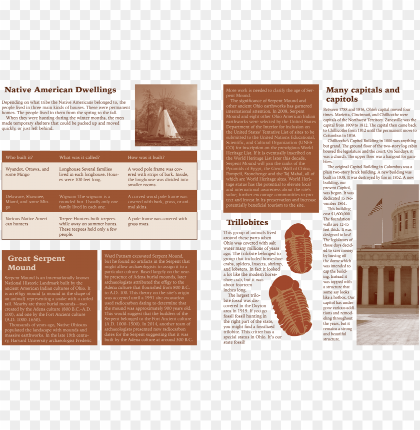free PNG this is a news letter that focuses on historical events - brochure PNG image with transparent background PNG images transparent