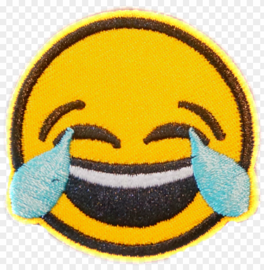 free PNG this package consists of 8 embroidered patches with - transparent png laughing emoji PNG image with transparent background PNG images transparent