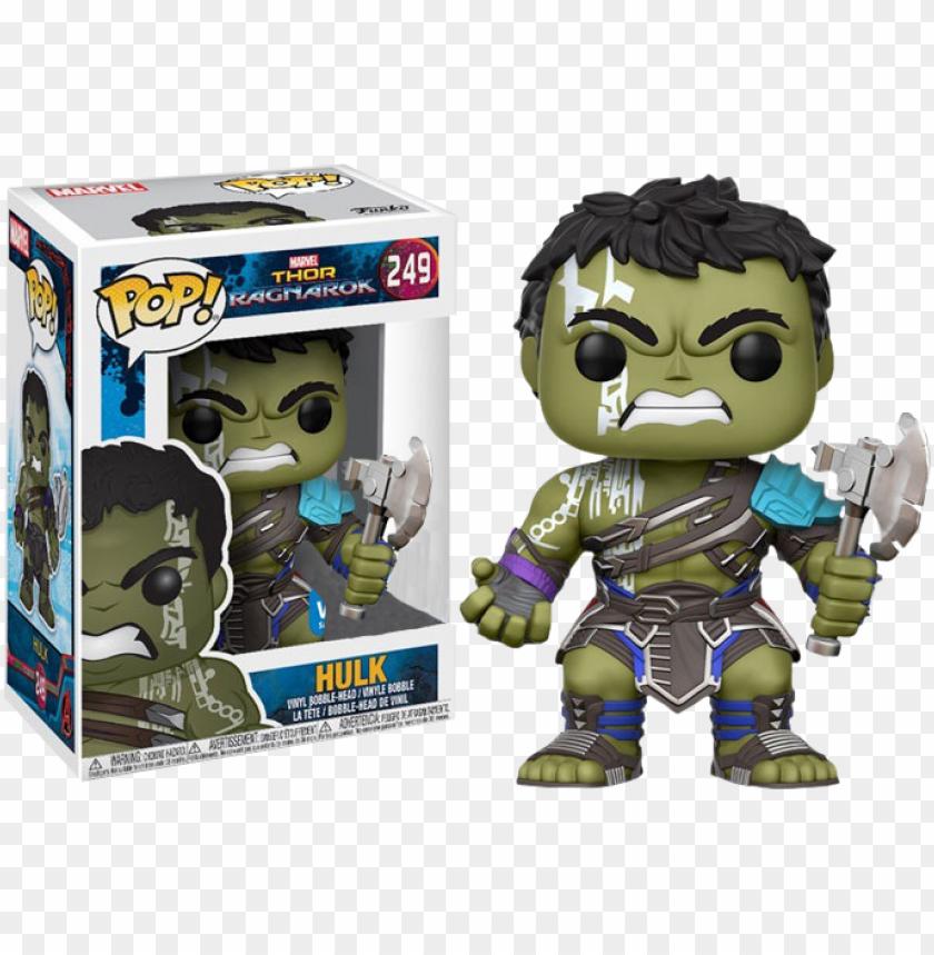 Thor 3 Ragnarok Hulk With Axe Us Exclusive Pop Vinyl Funko