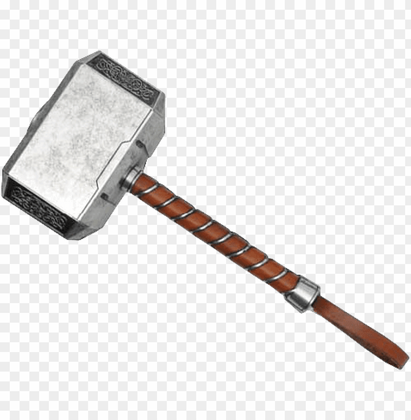 free PNG thor hammer png - avengers thor mjolner limited edition full size hammer PNG image with transparent background PNG images transparent