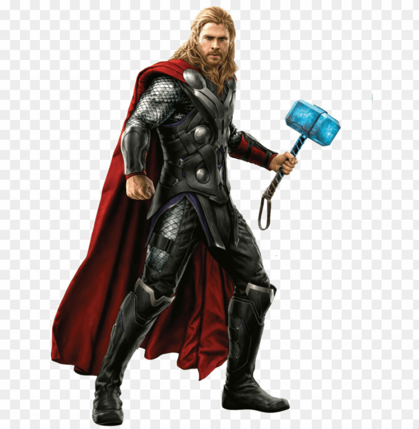 free PNG thor marvel png - thor avengers age of ultro PNG image with transparent background PNG images transparent