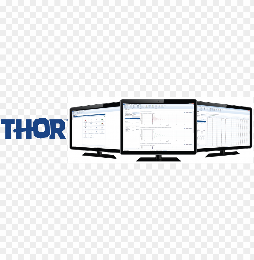 free PNG thor monitors with logo - thor PNG image with transparent background PNG images transparent