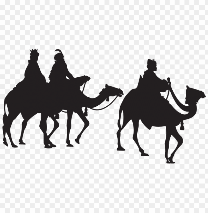 free PNG three kings silhouette png - Free PNG Images PNG images transparent