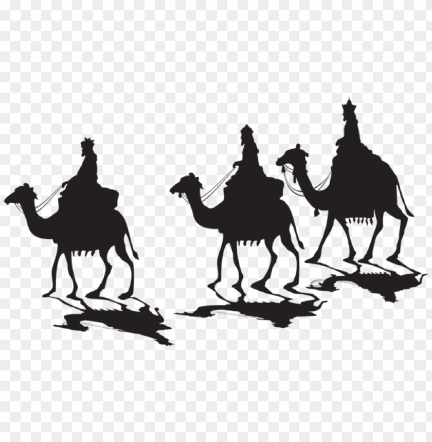 free PNG three kings silhouette png png - Free PNG Images PNG images transparent
