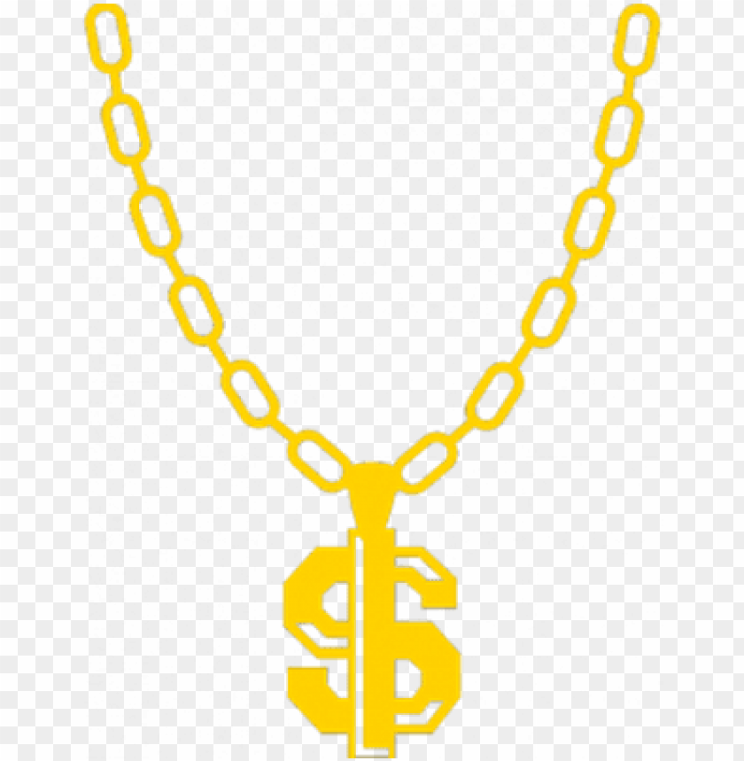 free PNG thug life chain dollar sign - thug life PNG image with transparent background PNG images transparent