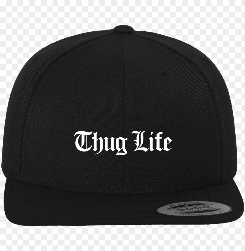 free PNG thug life snapback cap - black old english PNG image with transparent background PNG images transparent