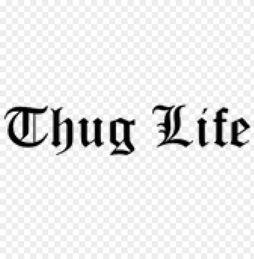 free PNG thug life text transparent background PNG image with transparent background PNG images transparent