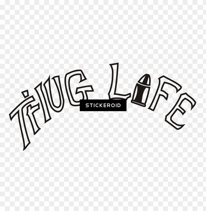 free PNG thug life - thug life 2pac tattoo PNG image with transparent background PNG images transparent