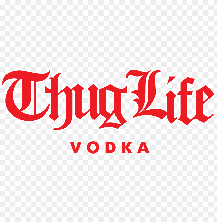 free PNG thug life, vodka - calligraphy PNG image with transparent background PNG images transparent