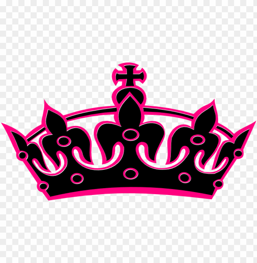 Tiara Silhouette Clip Art Queen Crown Clipart Transparent Background Png Image With Transparent Background Toppng