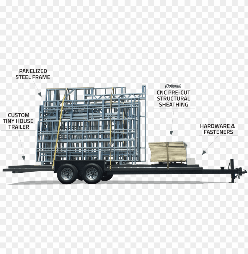 free PNG tiny house steel frame kit PNG image with transparent background PNG images transparent