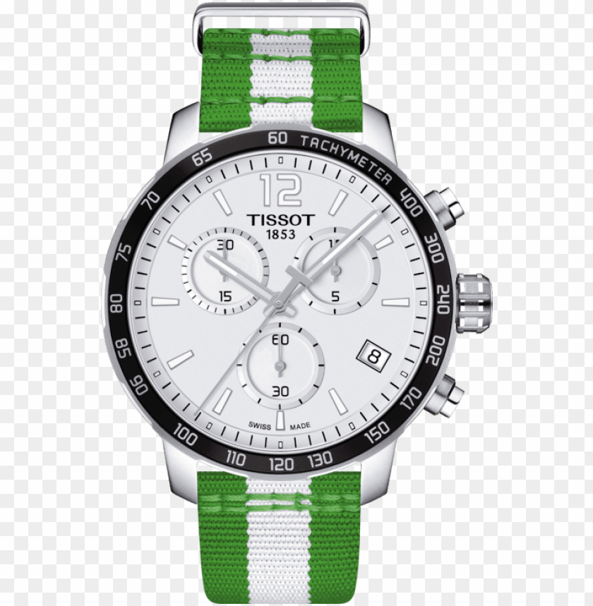 free PNG tissot quickster boston celtics special edition watch - tissot nba watch celtics PNG image with transparent background PNG images transparent