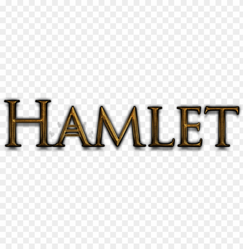 free PNG title font - hamlet title PNG image with transparent background PNG images transparent