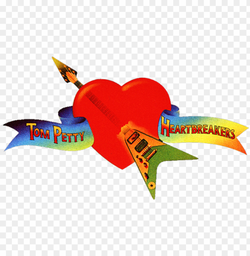 free PNG tom petty and the heartbreakers image - tom petty heart logo PNG image with transparent background PNG images transparent