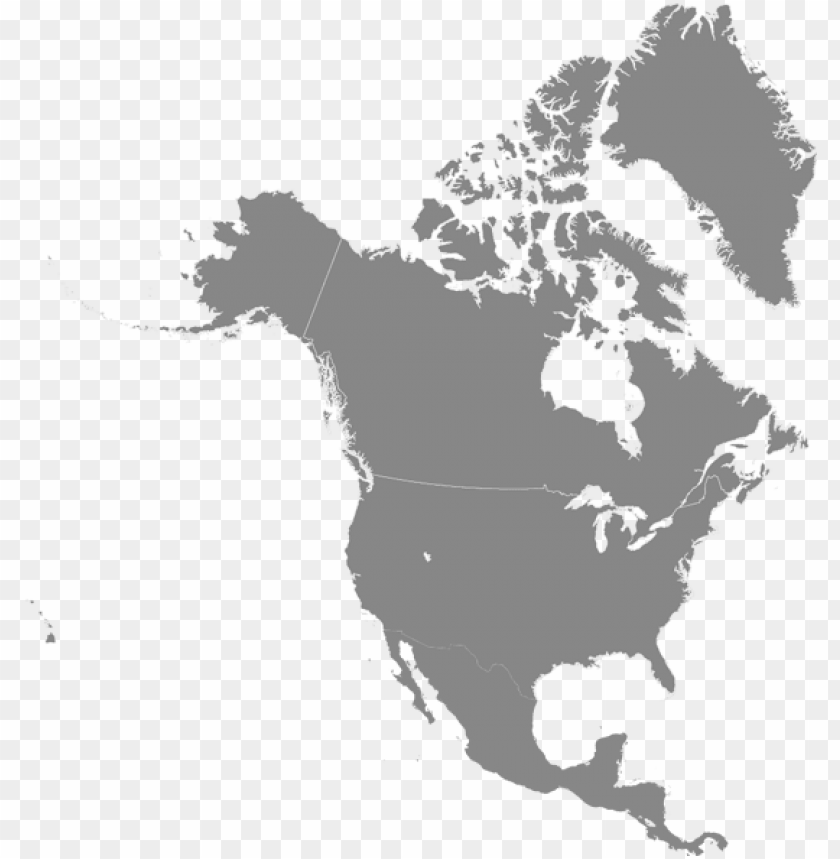 Tomtom Map Of Usa Canada Latest Ma Png Image With