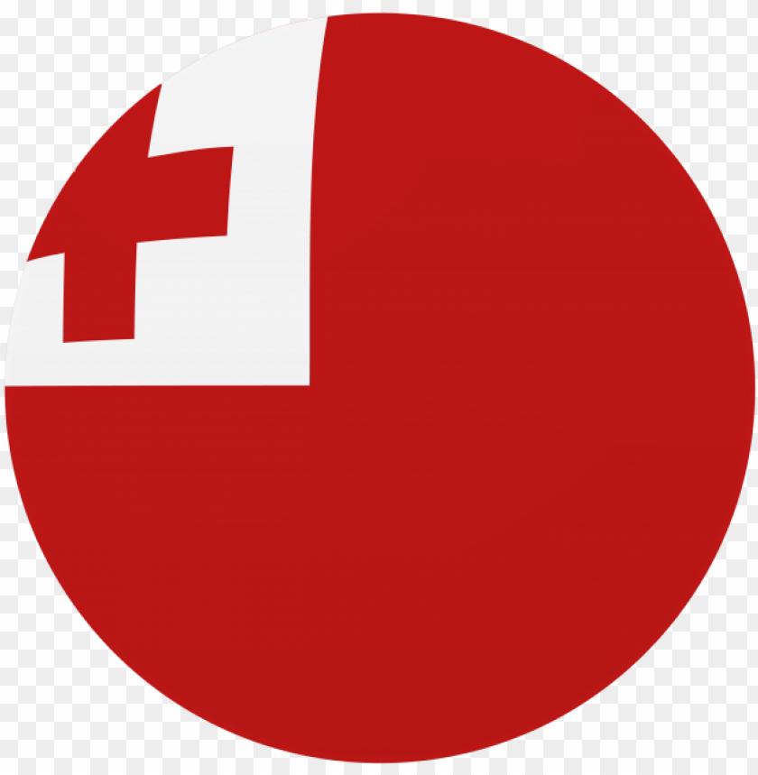 free PNG tonga round flag - tonga PNG image with transparent background PNG images transparent