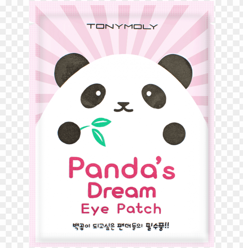 free PNG tonymoly panda's dream eye patch PNG image with transparent background PNG images transparent