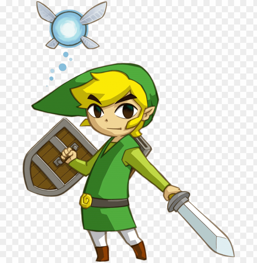 free PNG toon link phantom hourglass - legend of zelda phantom hourglass link PNG image with transparent background PNG images transparent