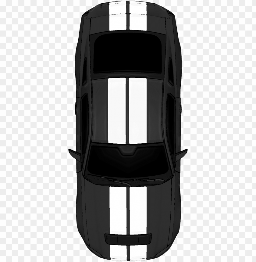 free PNG top view ford mustang free cutout architecture design - ford mustang top view PNG image with transparent background PNG images transparent