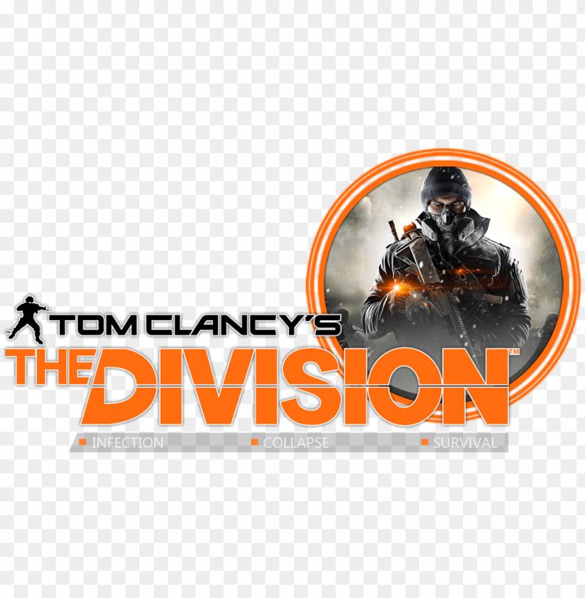 free PNG [tópico oficial] tom clancy's the division® - tom clancy's the division text PNG image with transparent background PNG images transparent