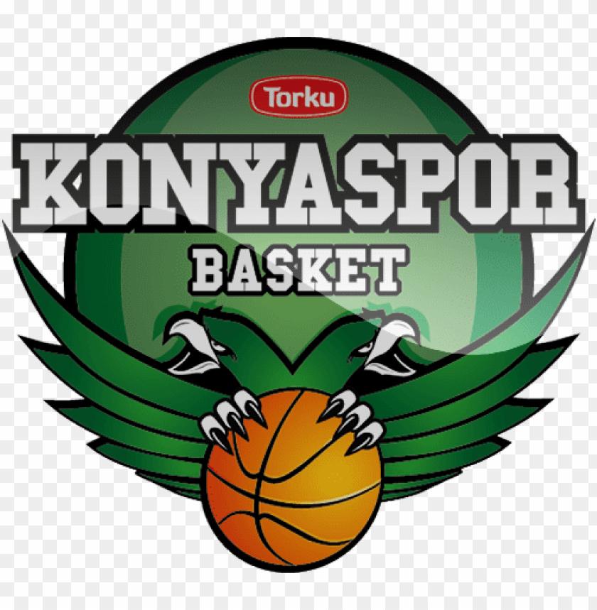 free PNG torku konyaspor basket football logo png png - Free PNG Images PNG images transparent