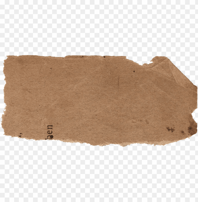 free PNG torn brown paper PNG image with transparent background PNG images transparent