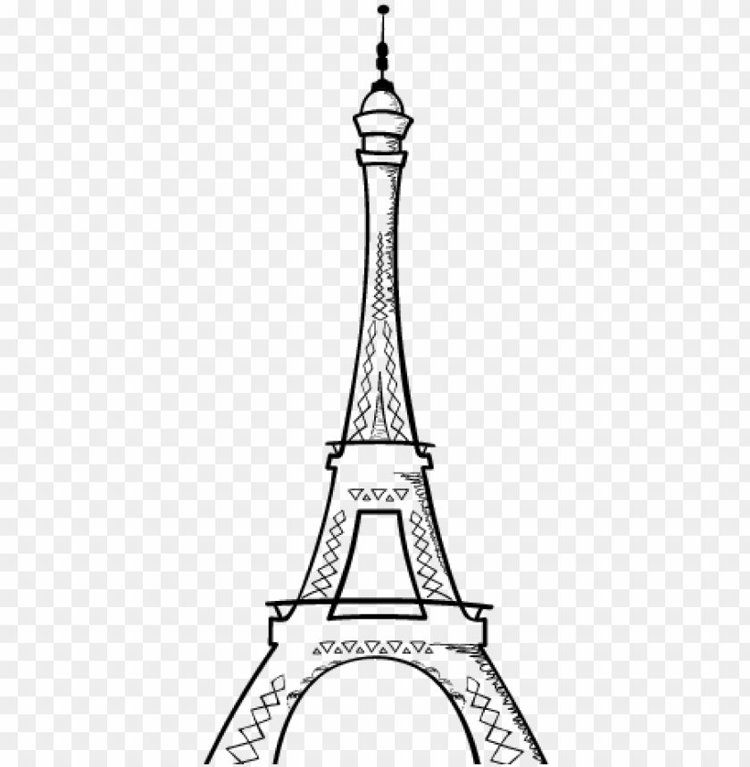 Torre Eiffel Para Colorear Png Image With Transparent