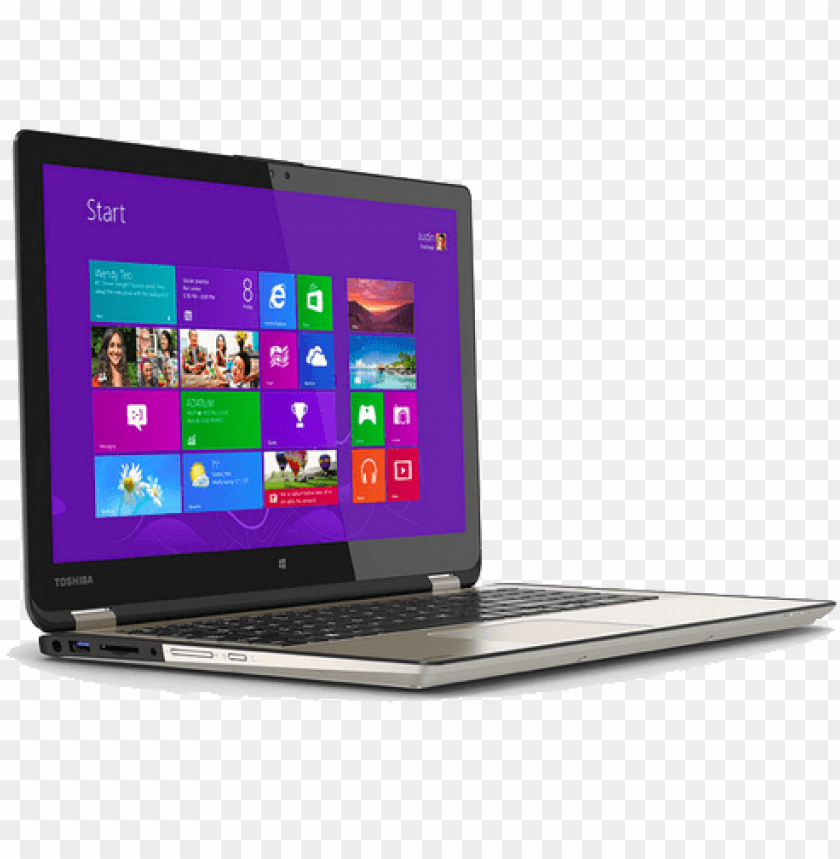 free PNG toshiba laptop png photo - laptop toshiba windows 8.1 PNG image with transparent background PNG images transparent
