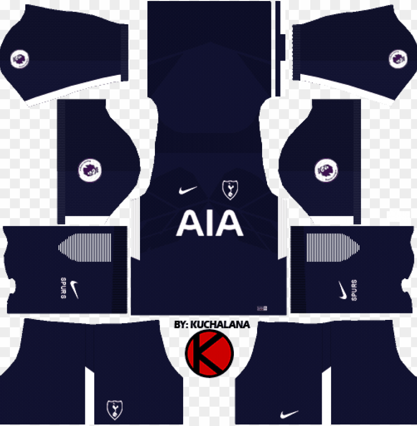 Tottenham Hotspur Kits 2017 2018 Dls 18 Kits Manchester United Png Image With Transparent Background Toppng