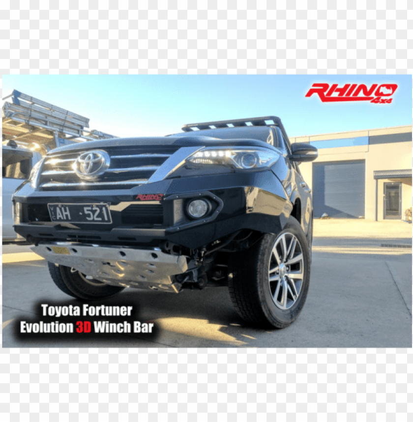 free PNG toyota fortuner rhino 4x4 front bull bar 2015 - fortuner 2017 winch bar PNG image with transparent background PNG images transparent