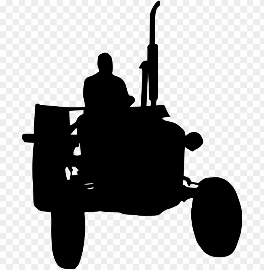 free PNG Tractor Silhouette png - Free PNG Images PNG images transparent