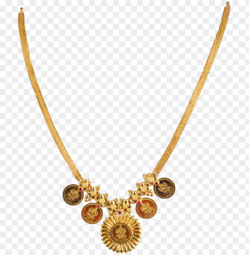 free PNG traditional design 20k gold necklace choker handmade - traditional gold chain designs PNG image with transparent background PNG images transparent
