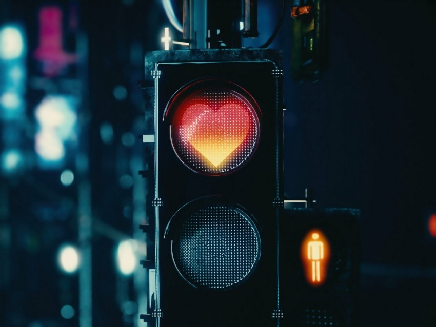 free PNG traffic light, heart, signal, red, love background PNG images transparent