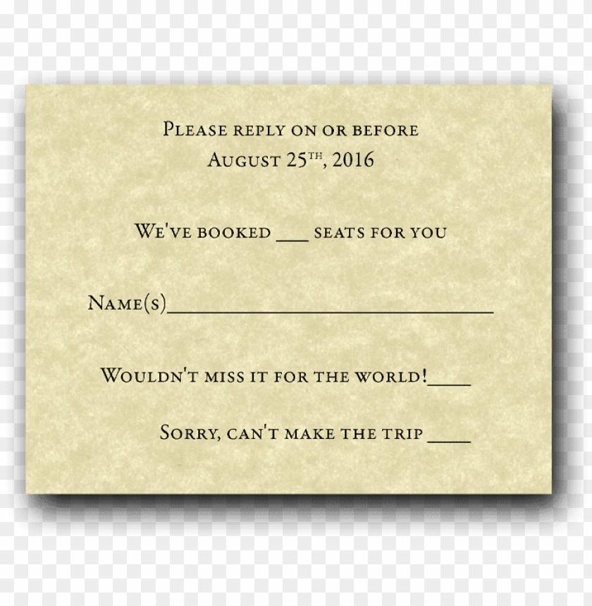 free PNG train ticket wedding invitation set - wedding invitatio PNG image with transparent background PNG images transparent