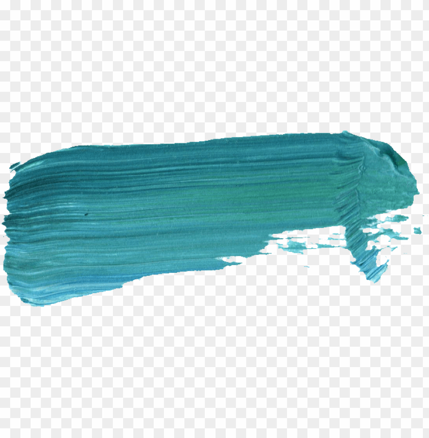 free PNG transparent acrylic painting inspirational 48 paint - brush stroke blue gree PNG image with transparent background PNG images transparent