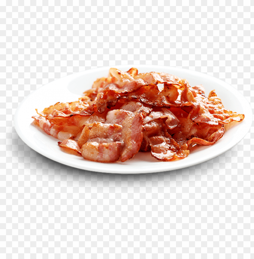 free PNG transparent bacon plate - plate of bacon PNG image with transparent background PNG images transparent