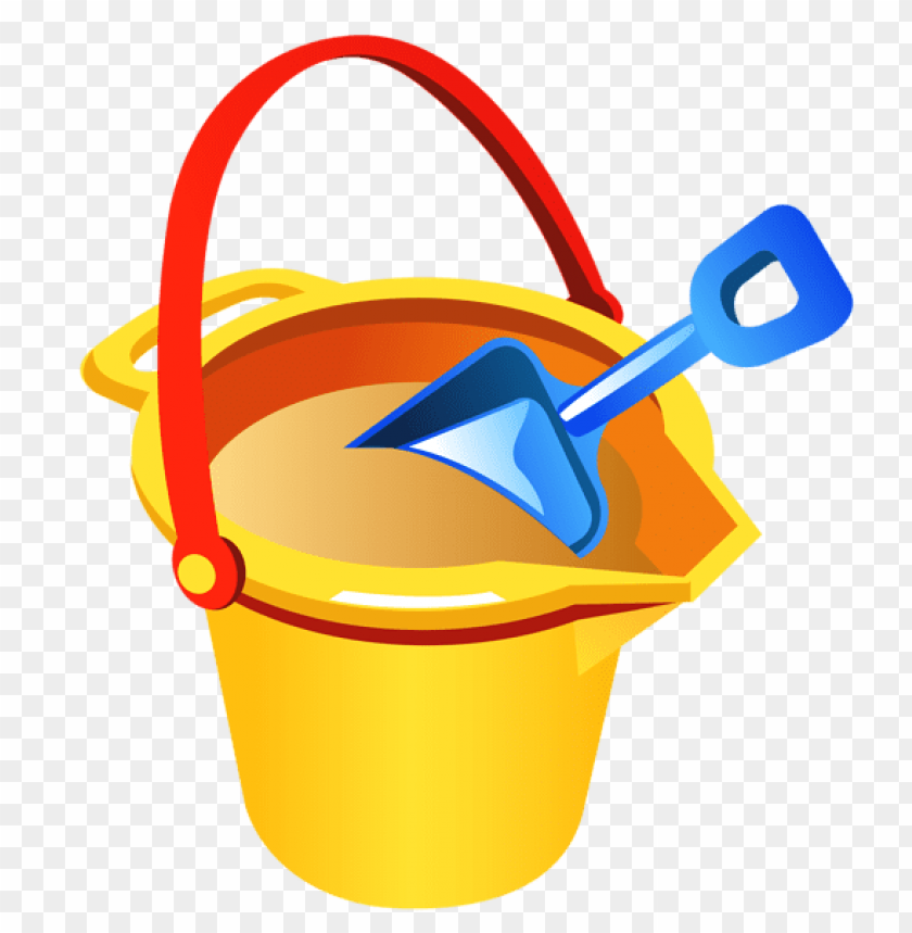 free PNG Download transparent beach bucket and shovel clipart png photo   PNG images transparent