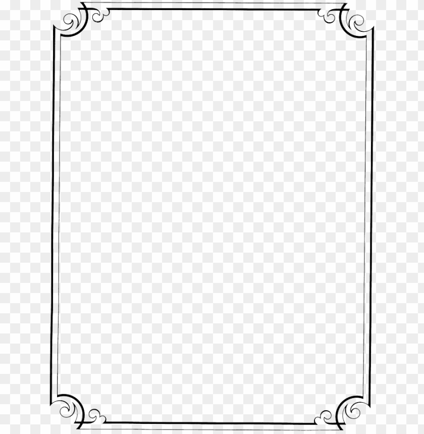 free PNG transparent border frame victorian border frame fancy - black and white borders desi PNG image with transparent background PNG images transparent