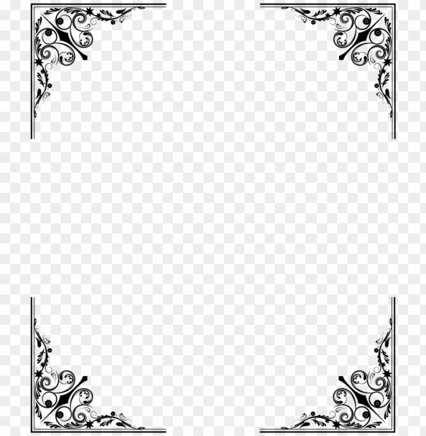 free PNG transparent border frame victorian border frame fancy - victorian border PNG image with transparent background PNG images transparent