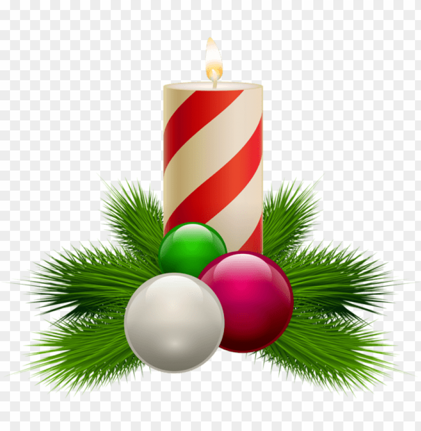 free PNG transparent christmas white candle PNG Images PNG images transparent