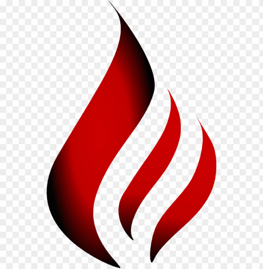 free PNG transparent flame logo - red fire flame logo PNG image with transparent background PNG images transparent