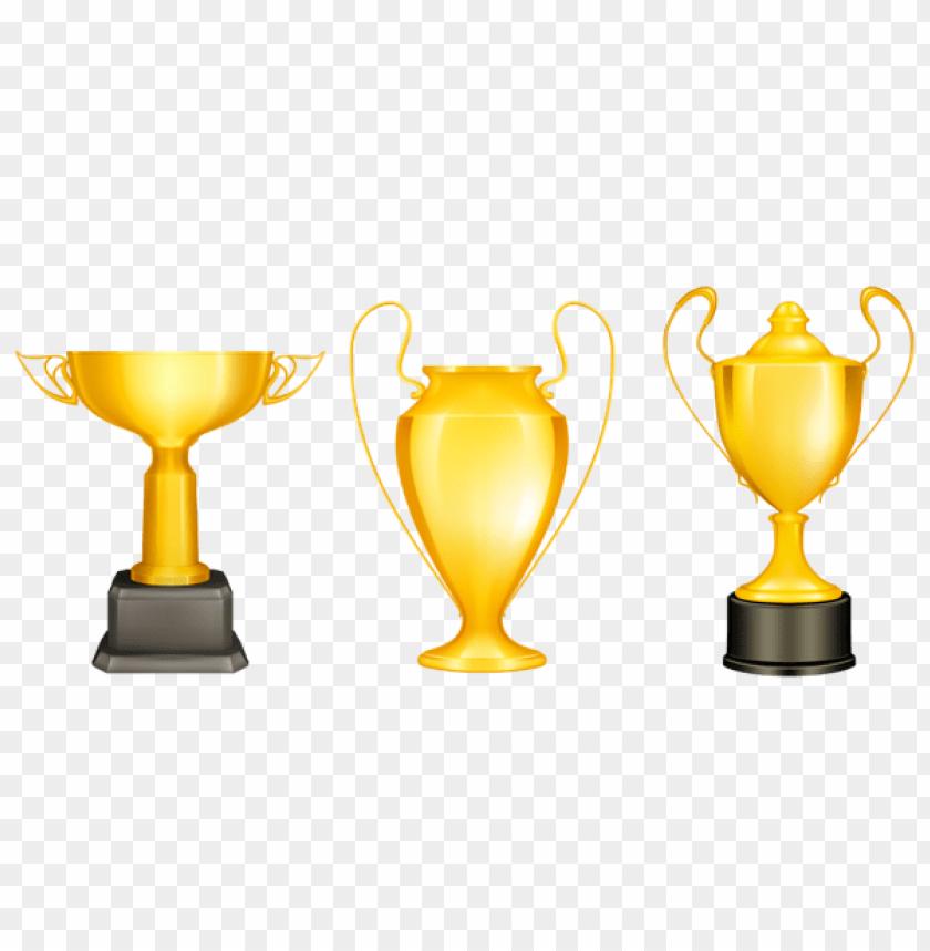 free PNG Download transparent gold silver bronze trophies clipart png photo   PNG images transparent