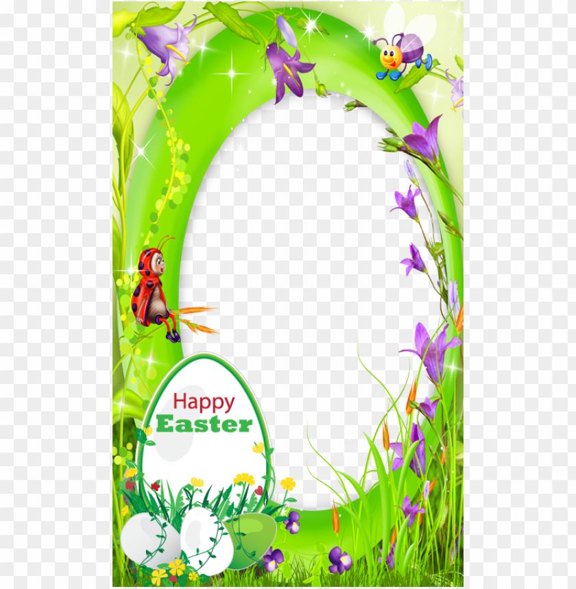 free PNG transparent happy easter 2018 frame PNG image with transparent background PNG images transparent