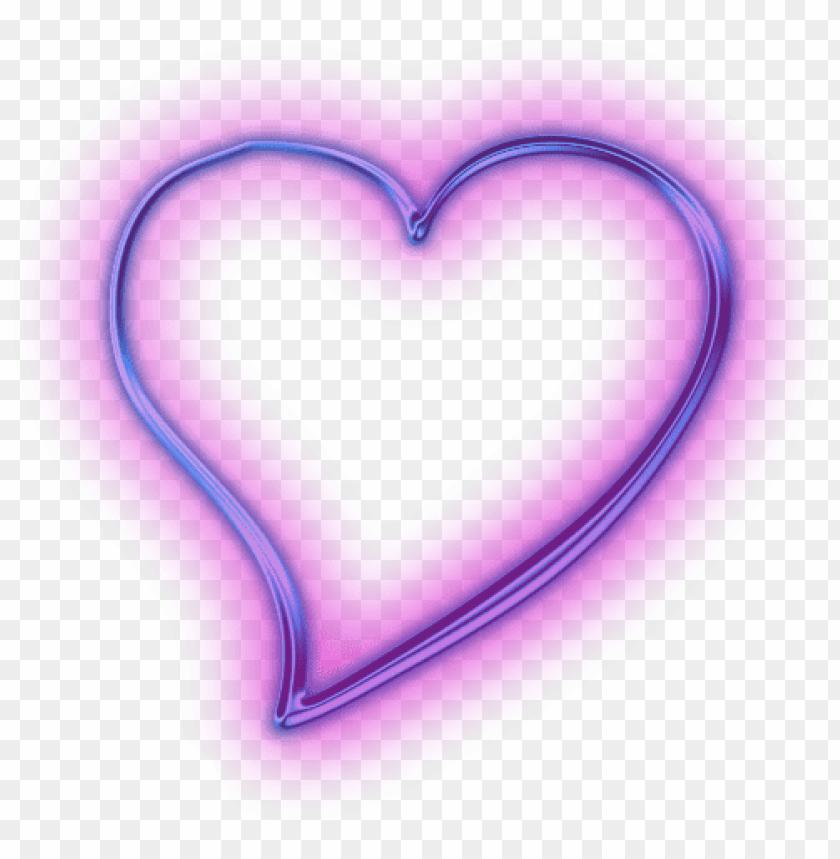 free PNG transparent neon purple heart svg free - purple neon heart PNG image with transparent background PNG images transparent